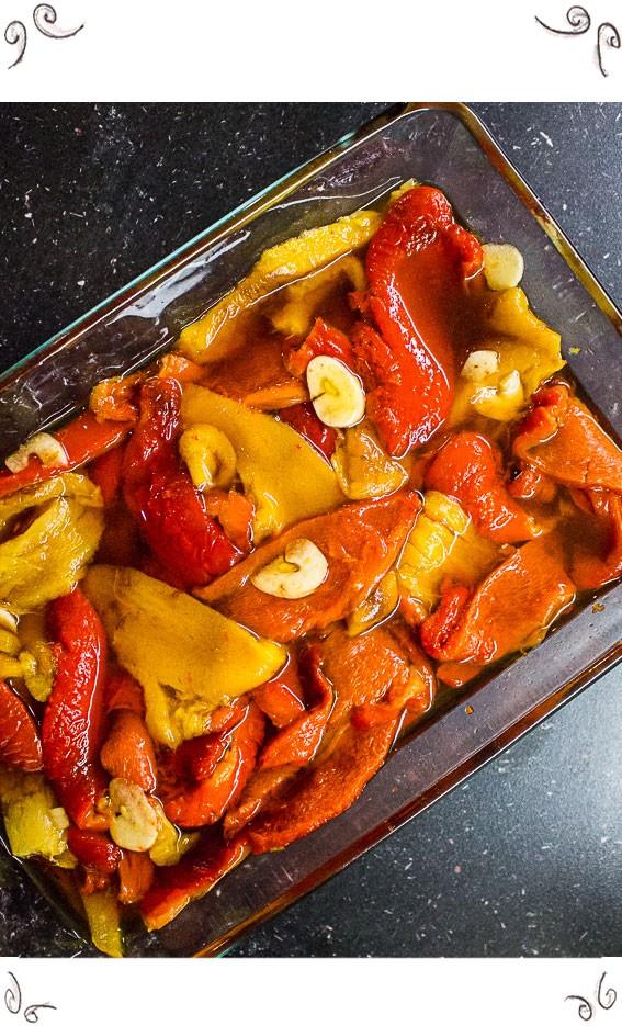 Pickled Peppers by Maschis Deliskes Koscher Cooking Class - Koscher Kochkurs Wien - Koscher Kochen Wien