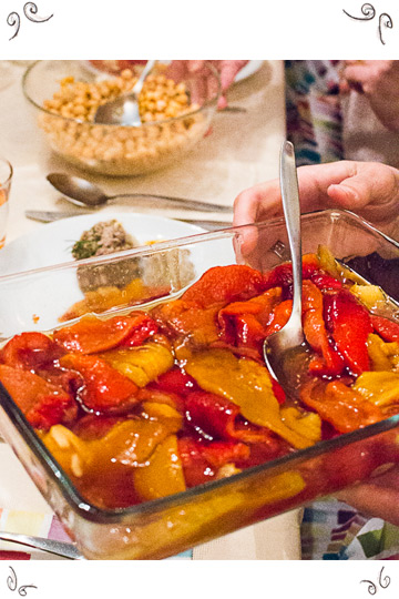 Eingelegte Paprika - Maschis Delishkes Kosher Cooking Classes Vienna