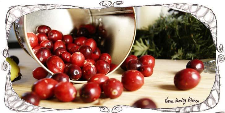 Cranberry Peach Compote Recipe