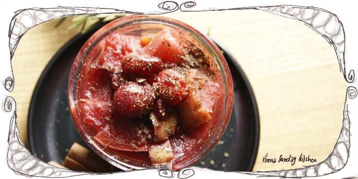 03 Cranberry Peach Compote