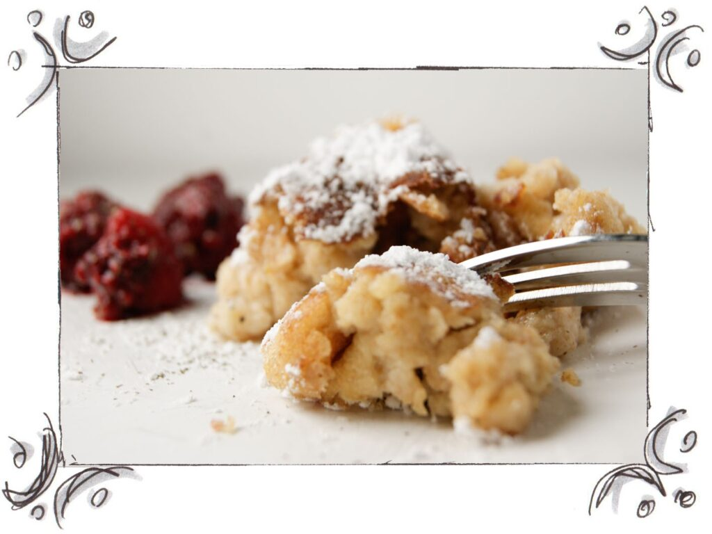 Recipe for Traditional Sugared Pancakes (Kaiserschmarrn)