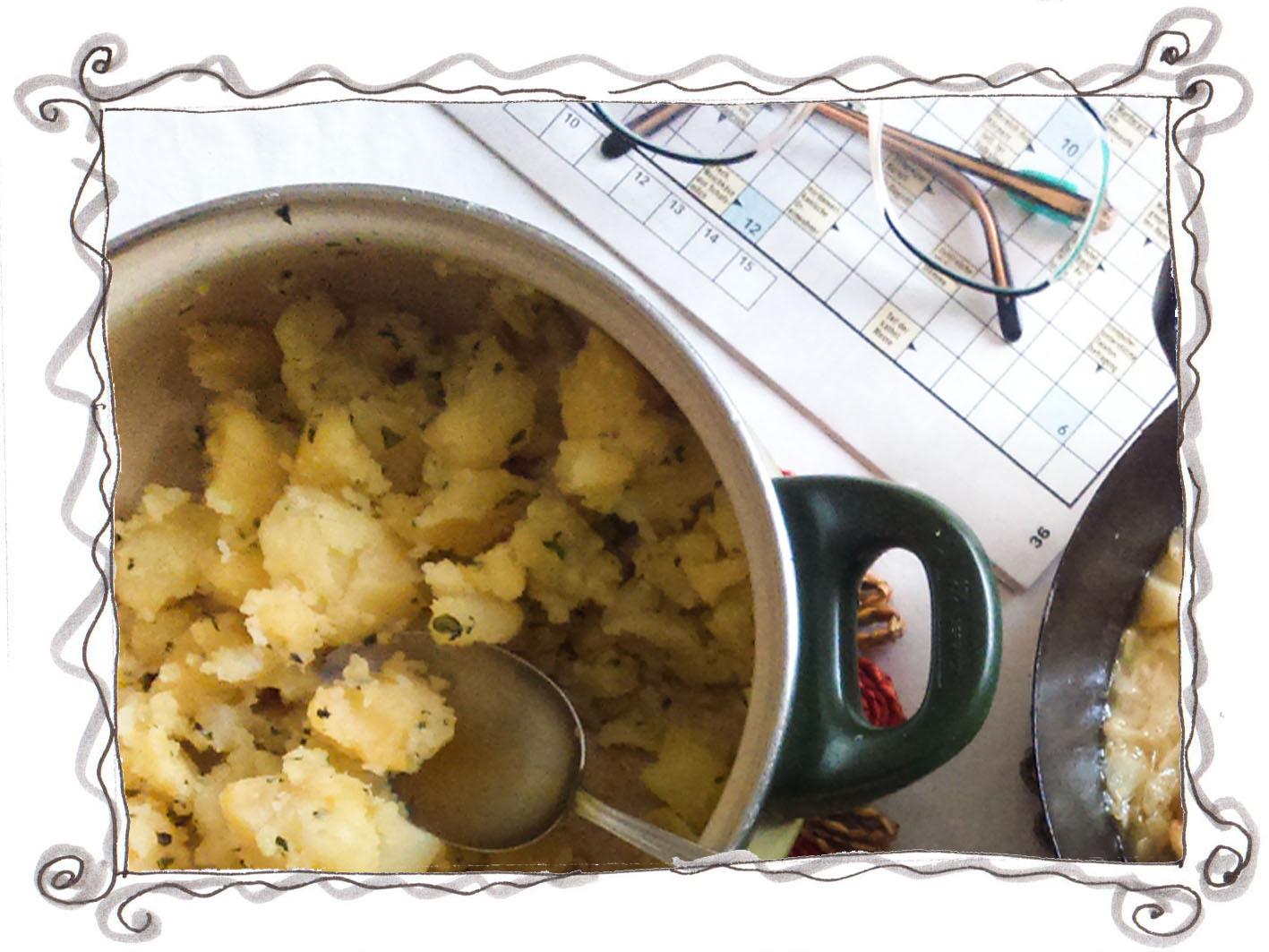 Parsley Potatoes - Petersilerdäpfel
