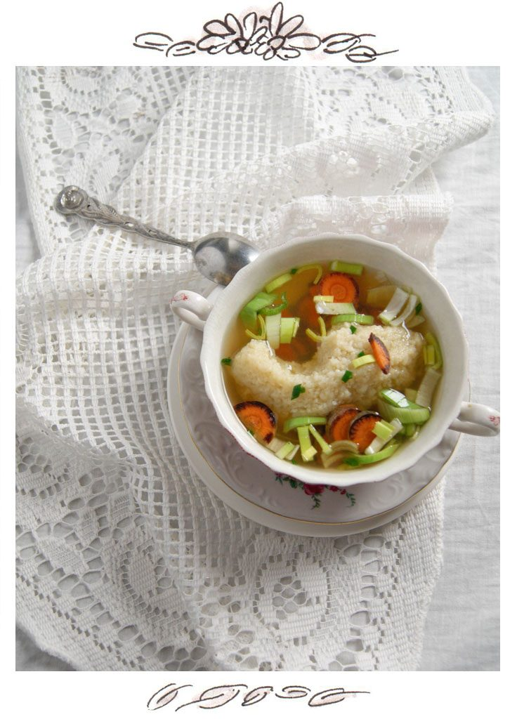 Semolina dumpling soup is probably one of the most beloved Austrian ...