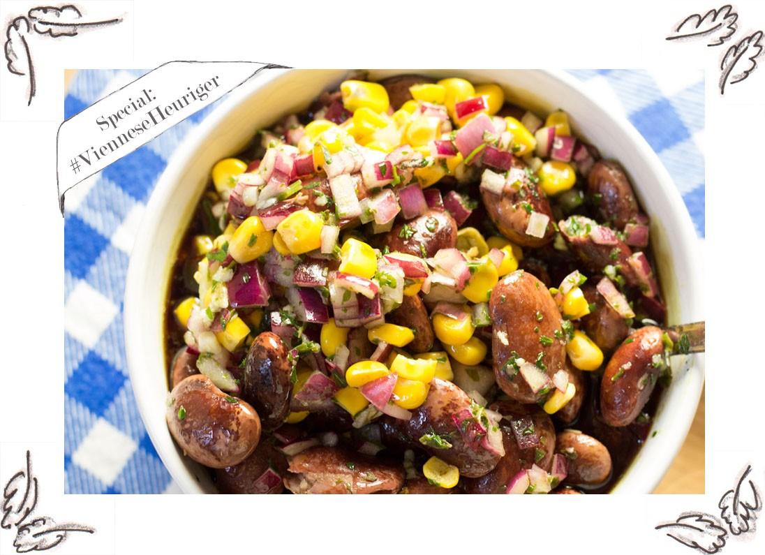 Steirischer Käferbohnensalat Rezept