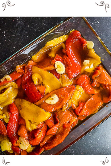 Eingelegte Paprika - Pickled Peppers - by Maschis Delishkes Kosher Cooking Classes Vienna