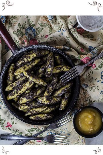 "Homemade Austrian Mohnnudeln (""Poppy Seed Noodles"") - by Vienna Sunday Kitchen"
